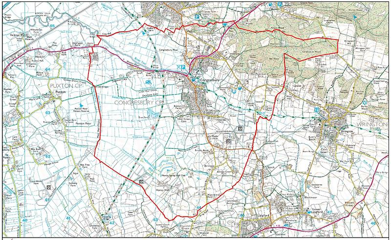 Congresbury Neighbourhood Development Plan Area